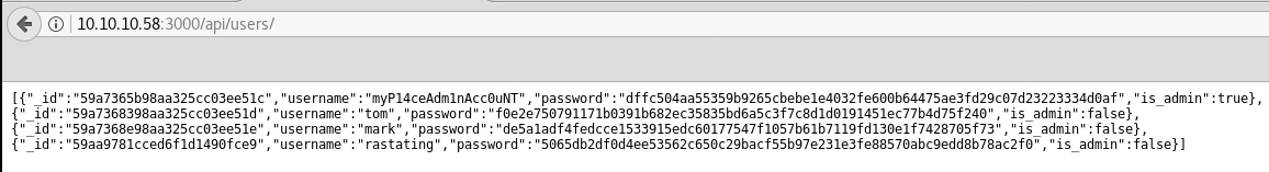 HackTheBox - Node Writeup